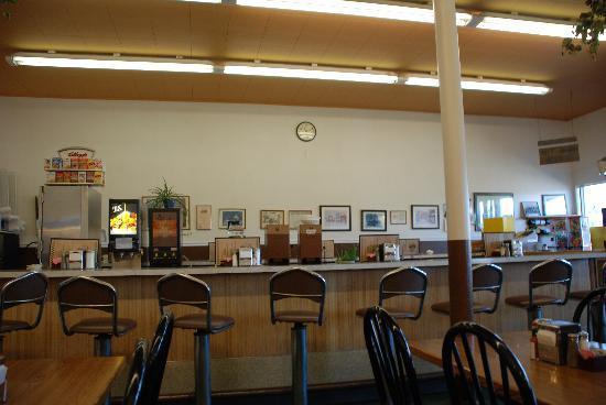 Interior of the Manhattan Cafe