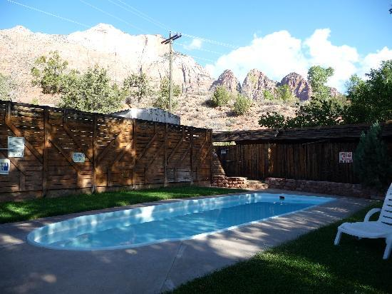 Terrace Brook Lodge: Pool area