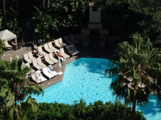Fashion Island Hotel Newport Beach The Pool Area From Above
