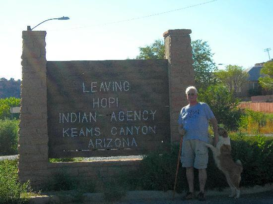 Keams Canyon, Аризона: That's all there is!