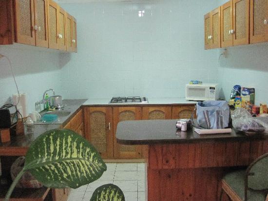 Lagoon Lodge: kitchen in superior suite