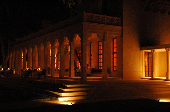 Night view of Amanbagh