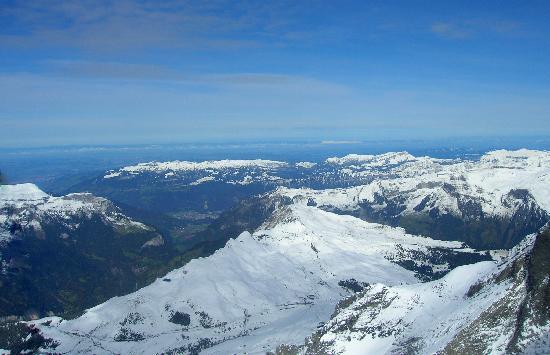 Männlichenbahn Grindelwald: view from Spinx observatory