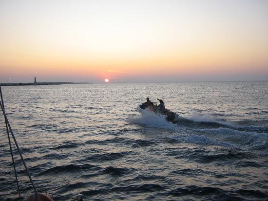 Oasis Sailing Cruises in Formentera : Sun set