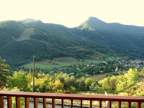 Le Grand Chalet : Aussicht aus unserem Fenster