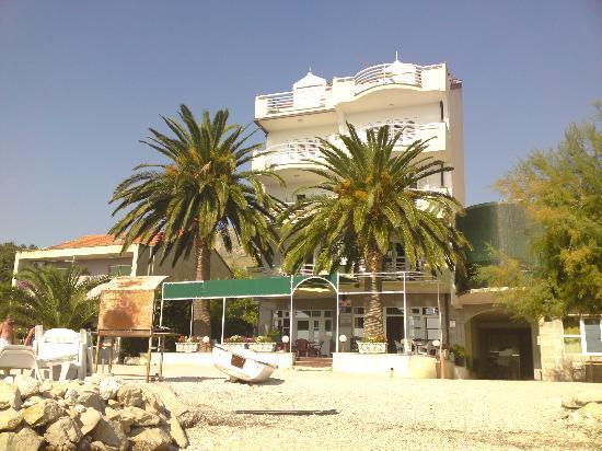 Villa Jerkan: View from the sea
