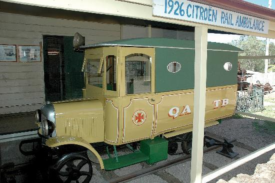 Herberton, Australië: Citroen Rail Ambulance fully restored
