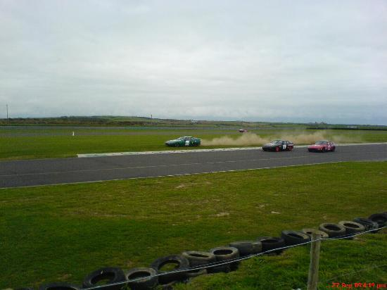 Pen Y Cefn Guesthouse : View 2 at BRSCC race track Ty Croes