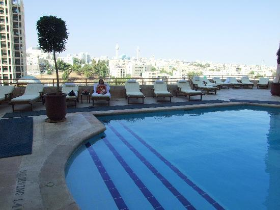 Grand Hyatt Outdoor Pool Picture Of Grand Hyatt Amman Amman Tripadvisor