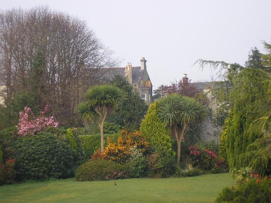 The Cairn Bay Lodge: scene from garden