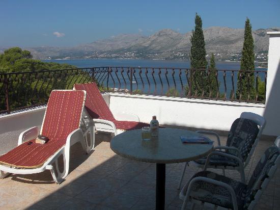 Villa Stanovic: Our balcony