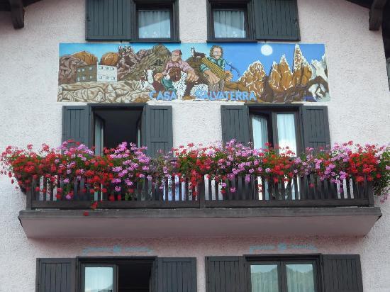 Affittacamere Salvaterra: La simpatica facciata di Casa Salvaterra