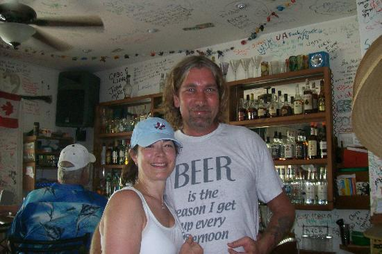 Shots Bar and Grill: Bob & Friend