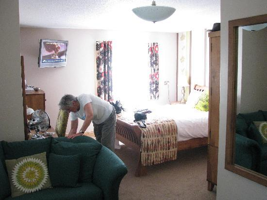 The Tudor Arms Lodge : Our room
