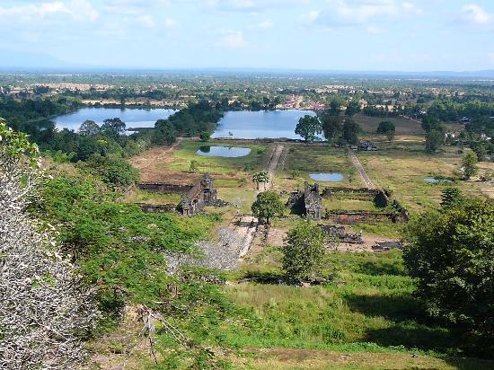 Vat Phou Temple: 山頂よりの眺め