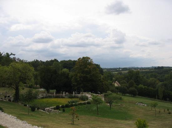La Chartreuse du Bignac : vue depuis la piscine