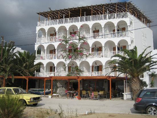Maistrali Hotel from the beach