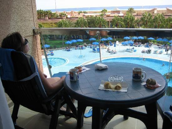Hotel Faro Jandia & Spa: Our Balcony - Lovely View