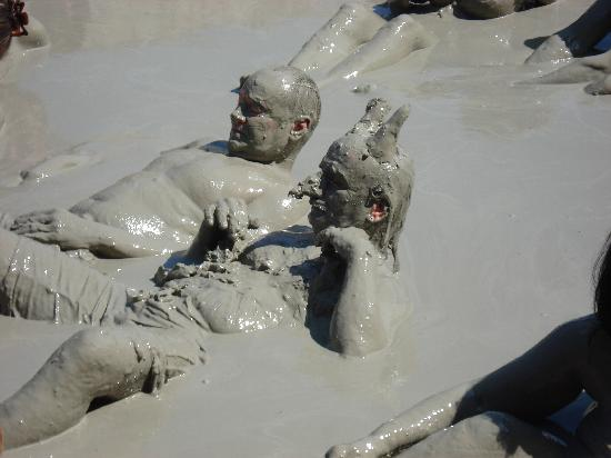 Alize Otel: mud baths on trip to Dalyan
