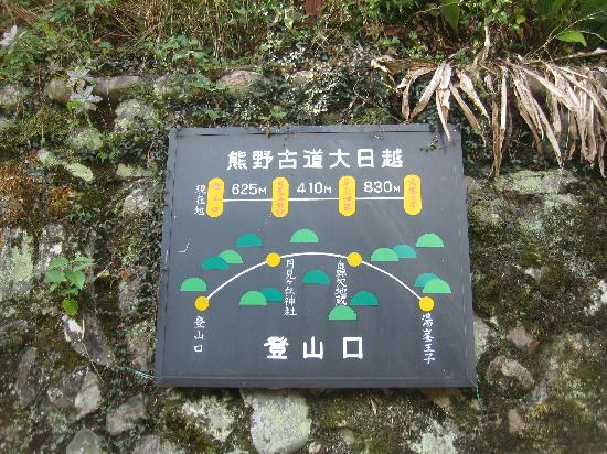 Kumano Kodo : 道のり案内