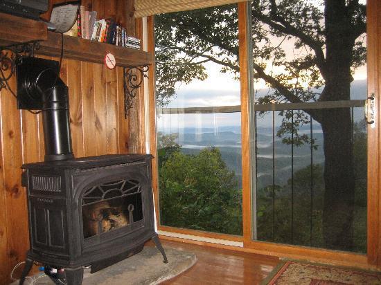 Gideon Ridge Inn: from the Sunrise suite sitting room