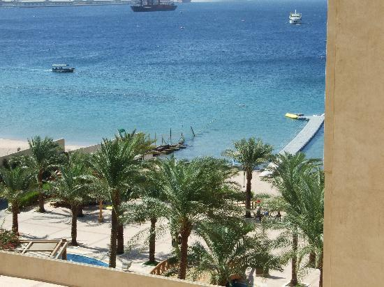 InterContinental Aqaba Resort: View from our room.