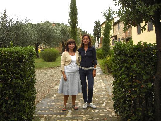 Agriturismo Montalbino: Me & Anna 9/15/09