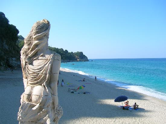Agios Ioannis, اليونان: Ag. Saranda Strand