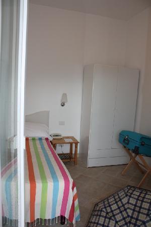 Hotel La Tosca: My single room seen from the balcony