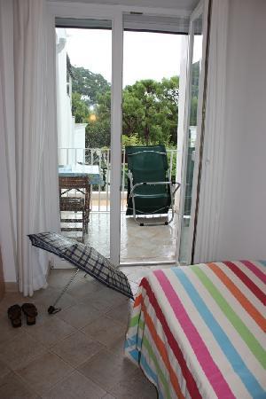 Hotel La Tosca: The balcony