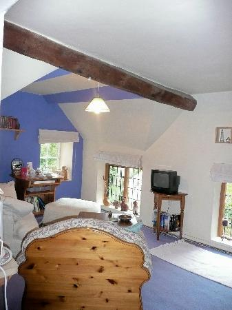 Walford Court: Our sitting area, cosy and comforatble