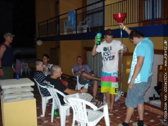 Santa Cristina Hotel: unsere Dachterasse im Einsatz