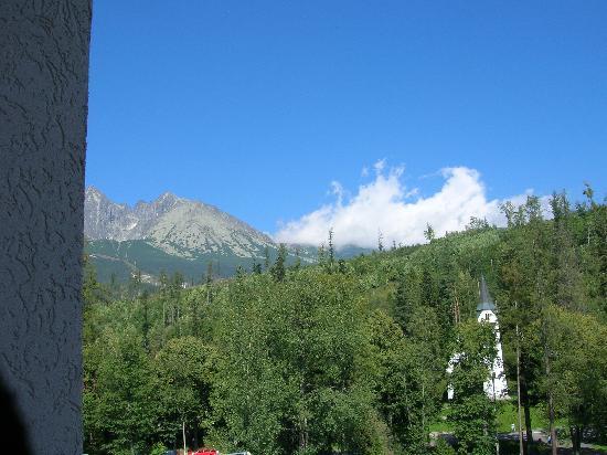 Hotel SLOVAN Tatranska Lomnica: DALLA MIA FINESTRA