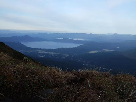 Akita Komagatake: 田沢湖です