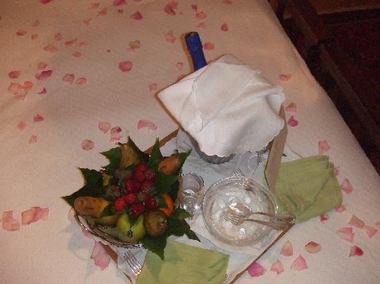 Cetraro, Italia: Left in our room,2 nights before wedding day