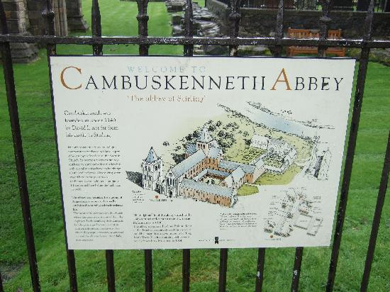 Welcome to Cambuskenneth Abbey,Scotland.