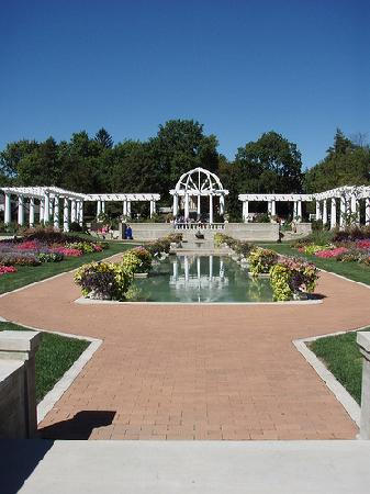 Fort Wayne, IN : Sunken Garden