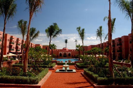 Hotel Les Jardins de l'Agdal: Vue générale
