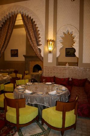 Hotel Les Jardins de l'Agdal: Restaurant Diwane