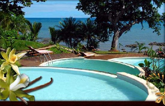 Vanila Hotel & Spa : La piscine