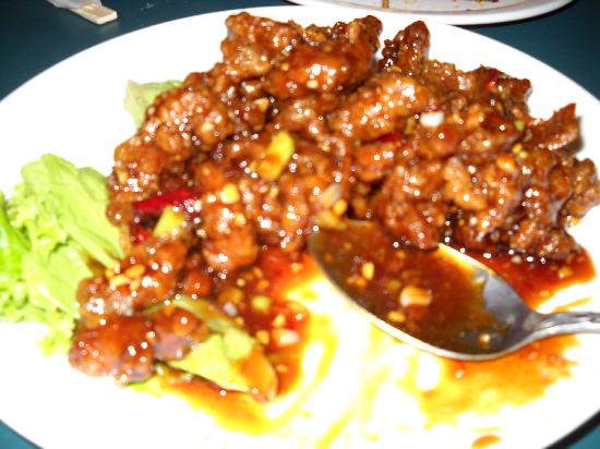 China Boat Restaurant: Orange Beef