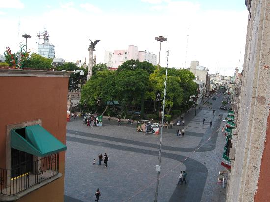 Quality Inn Aguascalientas: View from 3rd floor room