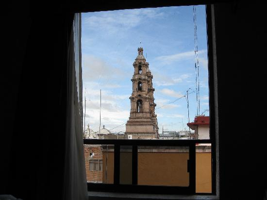 Quality Inn Aguascalientas: View from inside hotel room