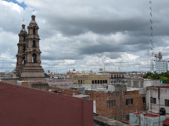 Quality Inn Aguascalientas: View from a 4th floor room