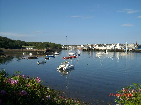 County Hotel: pic of the calm harbour