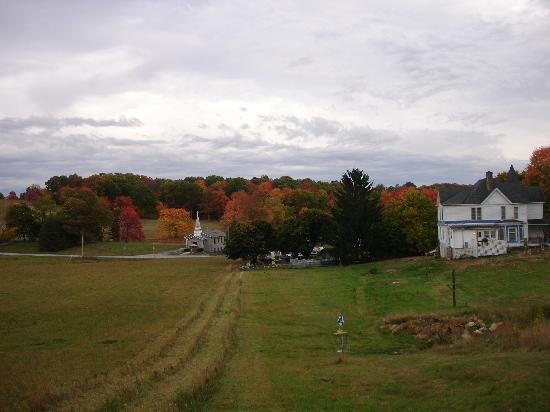 Mavis Manor in the Fall