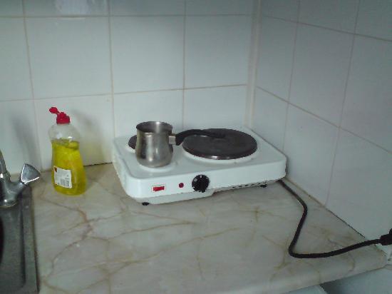 "Maritsa's Bay Hotel: the ""kitchen"""
