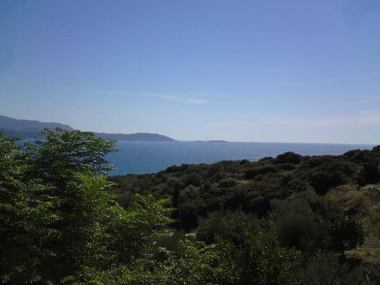 Maritsa's Bay Hotel: across to Turkey