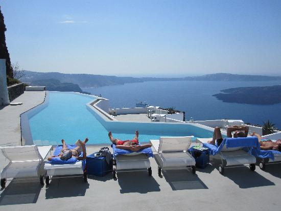 Grace Santorini Hotel: The new infinity pool