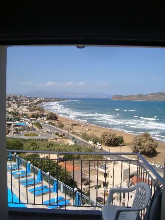 Renieris Hotel: view from the room